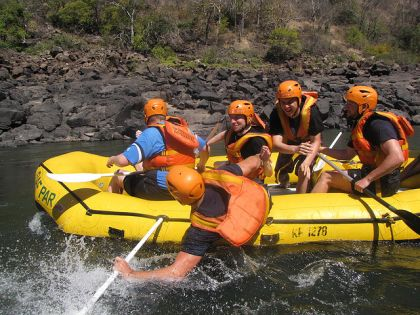 White Water Rafting in Zimbabwe