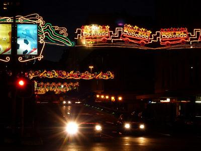 Adderley Street Festive Lights