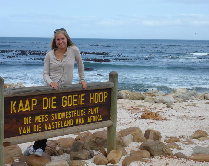 cape point reserve sign