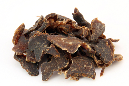 Biltong makes for the best roat trip food