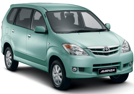 The Avanza is a popular car rental option for families