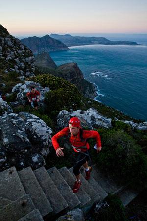 Ryan Sandes ultra marathon runner